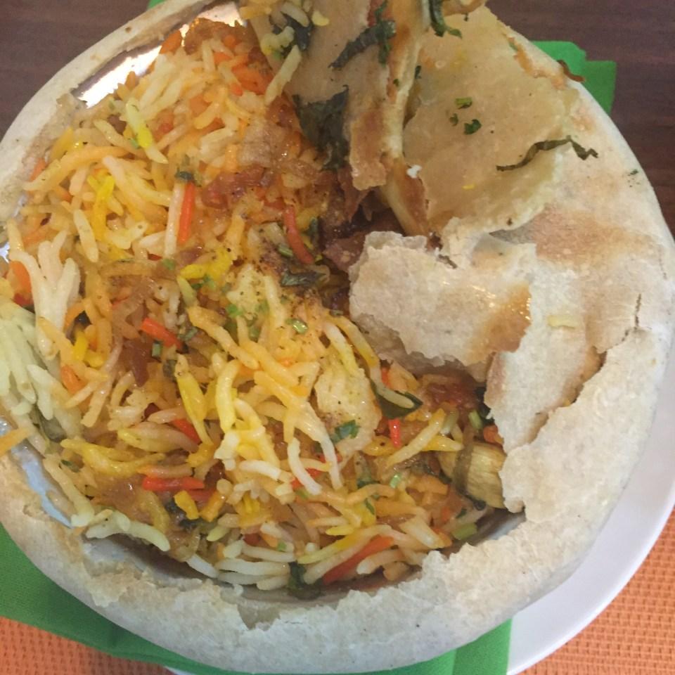biryani prawn indian food blog doha