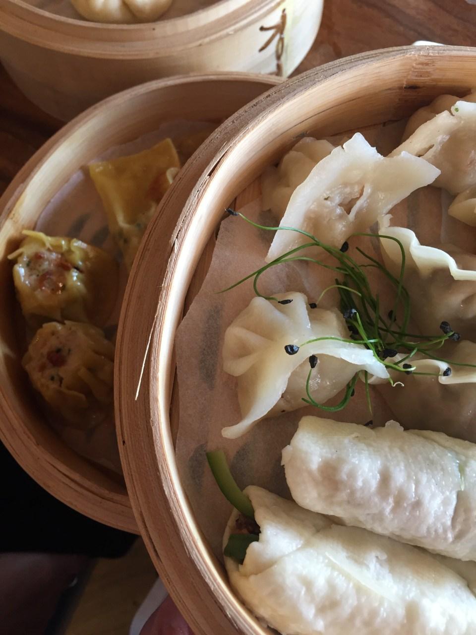 dumplings at food blog