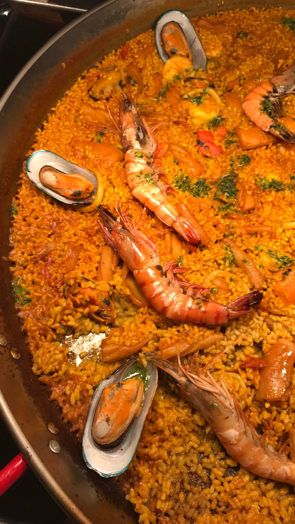 Paella at Olive Oil
