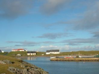 Scarinish from the Harbour