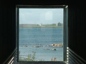 A window on Gott Bay