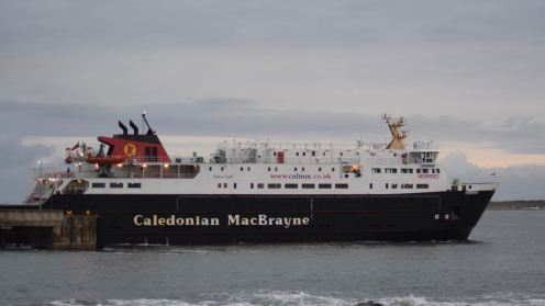 Stopping at Coll then Oban