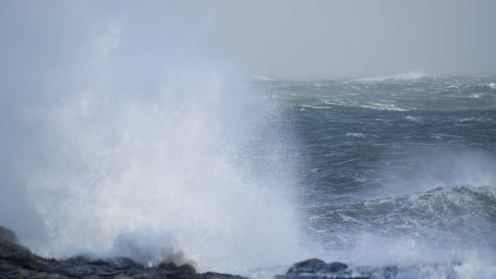 Looking out to the Passage of Tiree