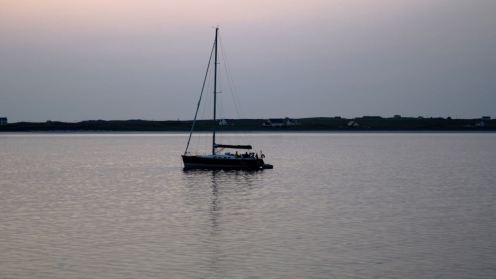 Yacht at rest