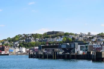 Oban Ferry Terminal and Town