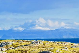 Ben More from Scarinish at Sunday lunchtime