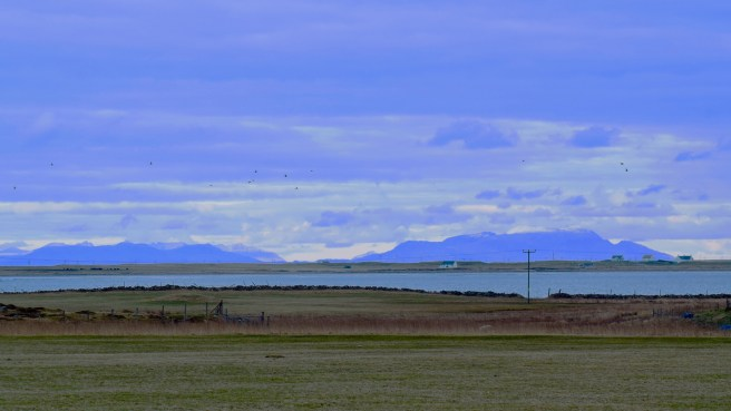 Isle of Rum from Pier Road Scarinish
