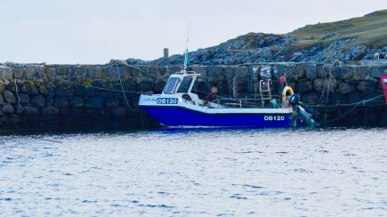 Tiree Lobster and Crab's boat - Atlantic Roar