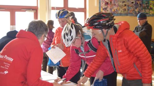 It's not registration for a cycle race