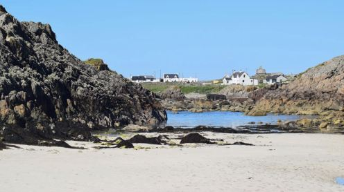 """West Hynish from our """"secret Beach'"""