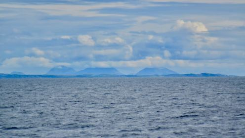 The Paps of Jura from the PS Waverley
