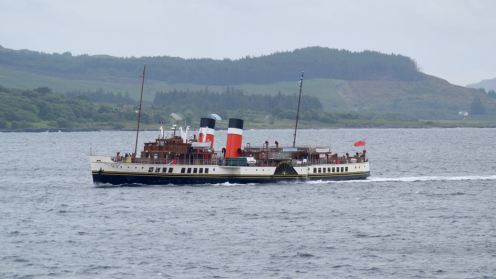 PS Waverley in the Sound of Mull