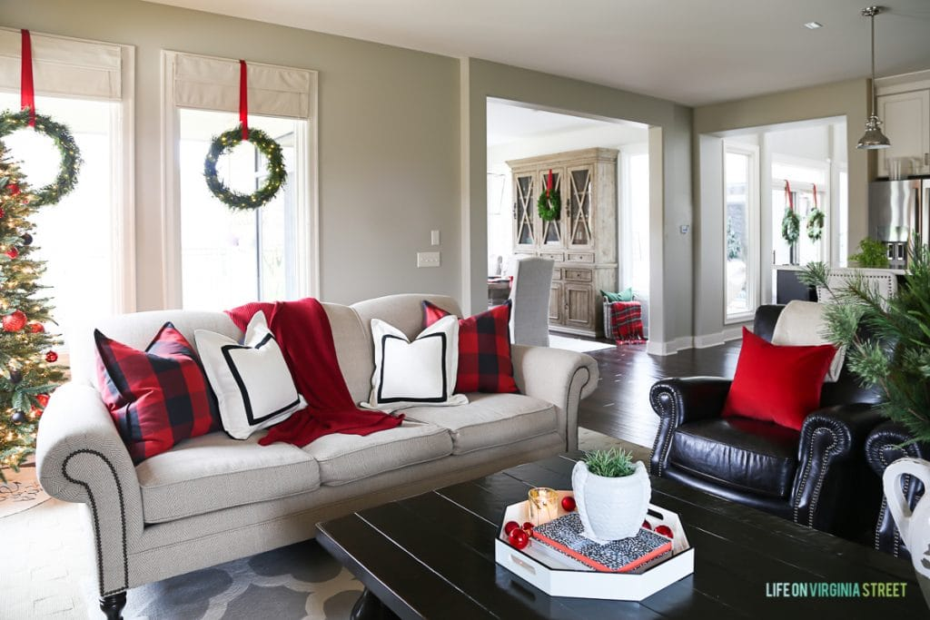 Christmas Home Tour Living Room Amp Dining Room Life On