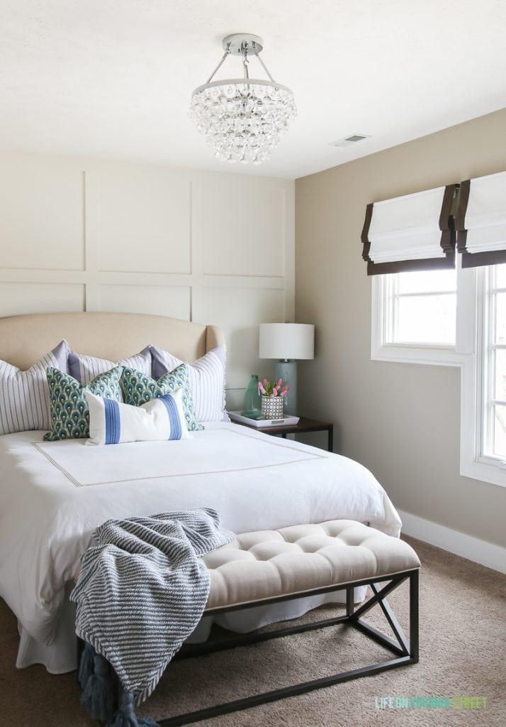 spring guest bedroom paint color