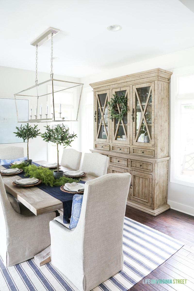 Reclaimed Wood Dining Room Hutch Options Life On Virginia Street