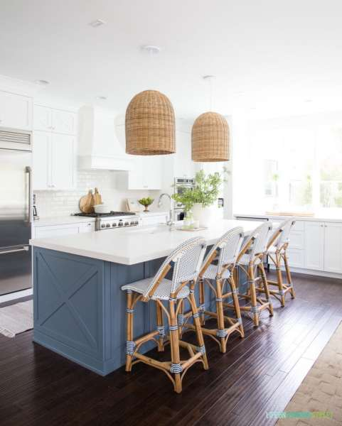 coastal kitchens with white cabinets The Best White Paint Colors for Interiors - Life On