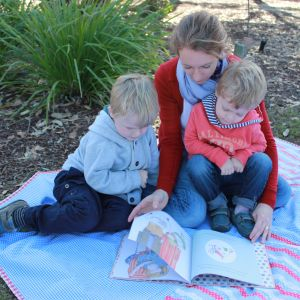 Too Busy Sleeping Book Review family - Life on Wallace