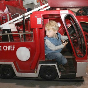 Museum of Fire in Penrith mini truck