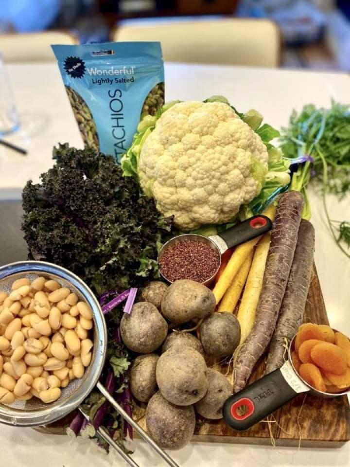 Winter Roasted Veggie Buddha Bowl (Vegan) Ingredients