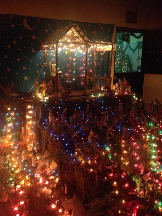 Nativity Scene in someone's house