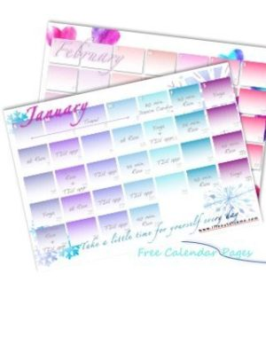 LooC Calendar Pages 1-2
