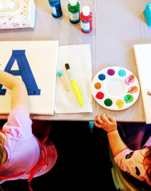 Toddler painting party Amazon List