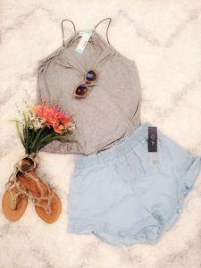 Stitch Fix Summer Flatlay
