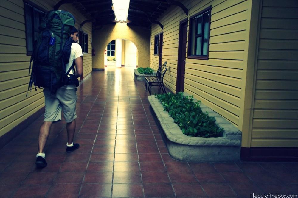 arriving in managua