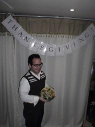 Vlad (Canada) brought a salad.
