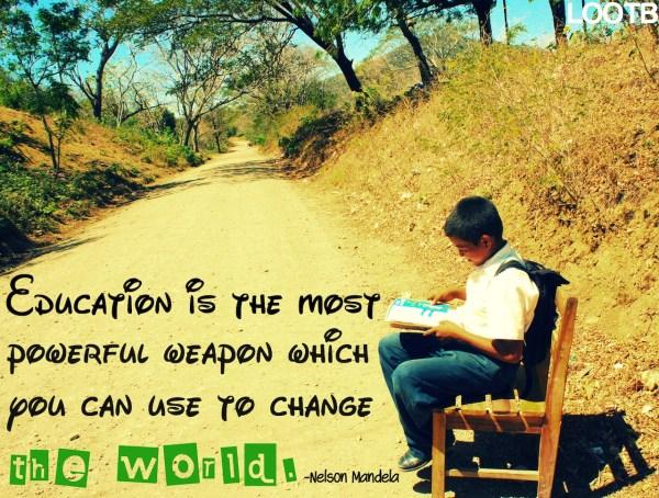 Education Change World Life Of Box