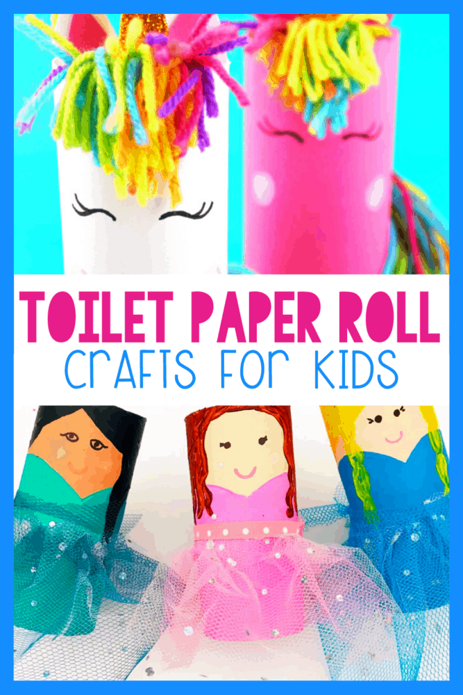 30 Toilet Paper Roll Crafts For Kids