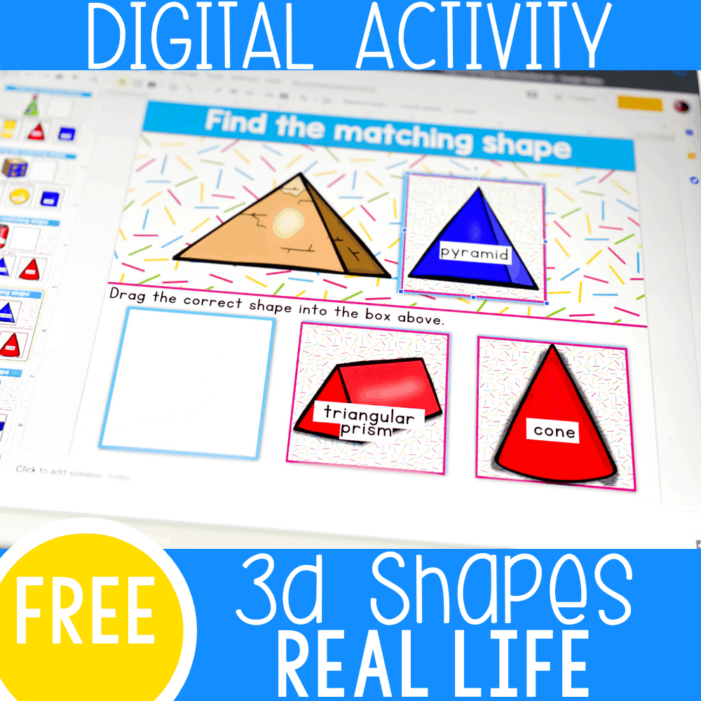 hight resolution of 3D Shapes Kindergarten Activities with Real World Objects -