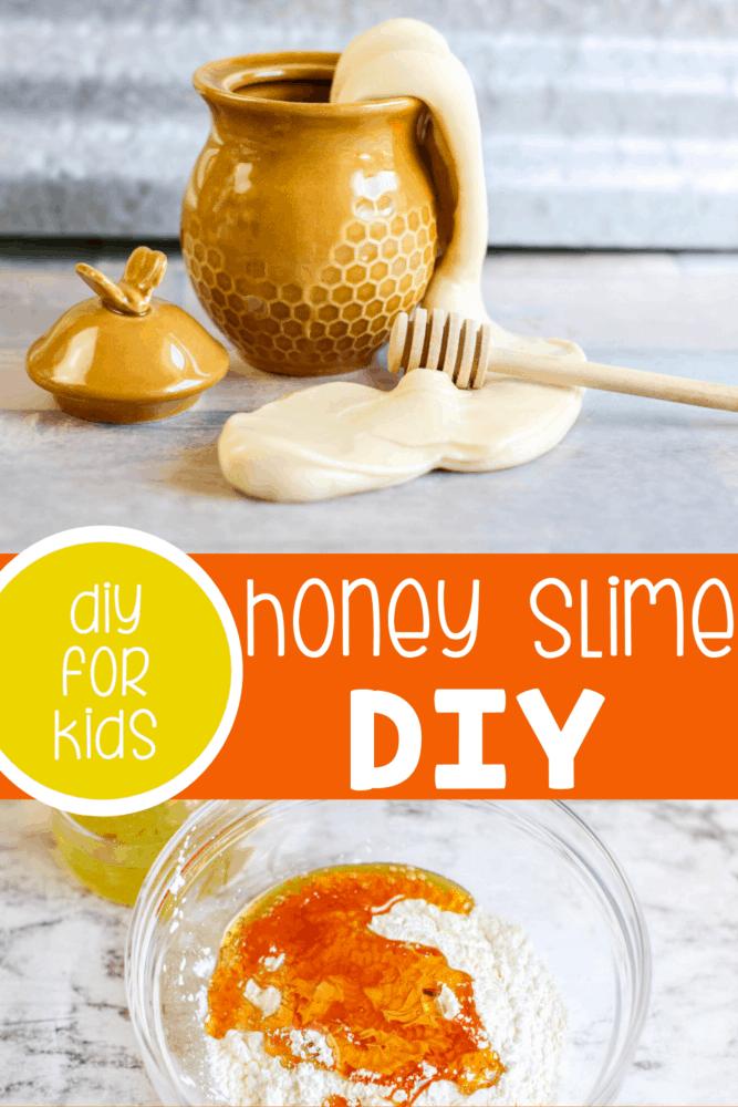 How To Make Slime With Vegetable Oil : slime, vegetable, Edible, Slime, Honey