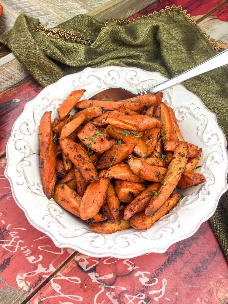 Roasted Curried Carrots