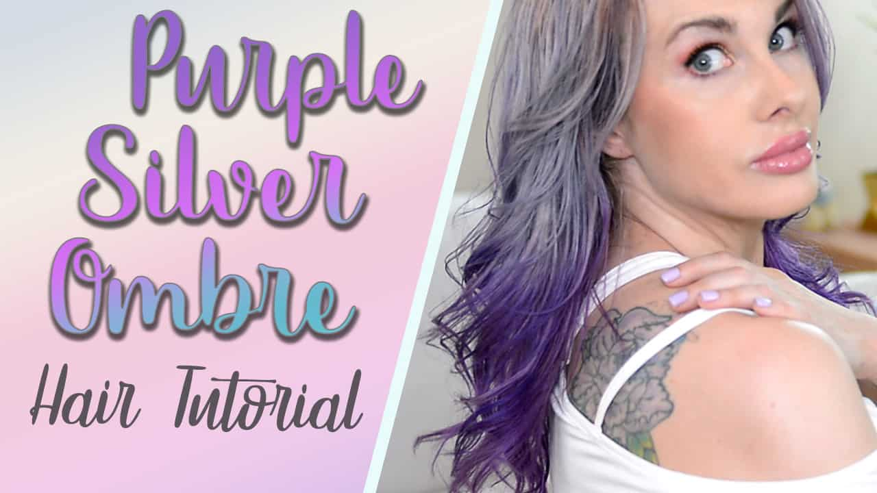 Purple Ombre Hair Tutorial Using Ion Color Brilliance