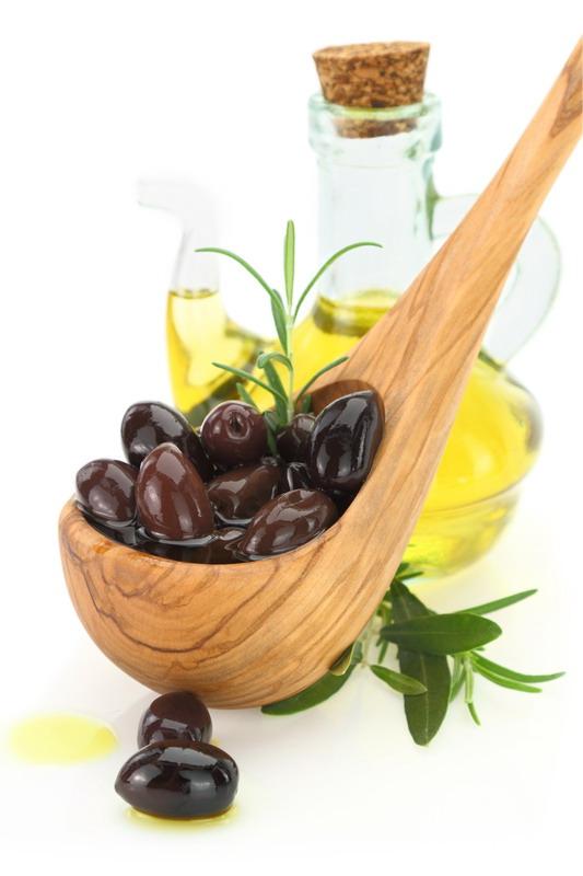 drvena kasika maslinovo ulje