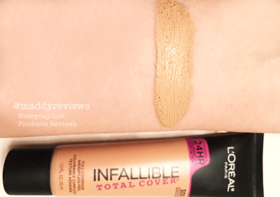 Loreal Infallible Total Cover 24 Hours Foundation Color Correcting