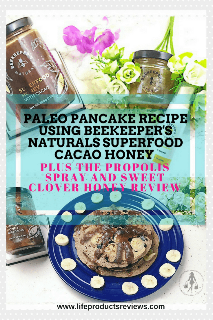 Paleo-Chocolate-chip-Pancakes-recipe-Beekeepers-Naturals-SuperFood-Propolis-chocolate-honey