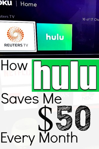 How HULU Saves $50 per Month on My Home TV Service