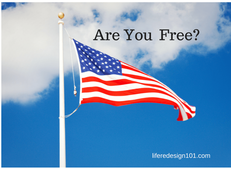 Are You Free? American Flag