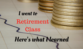 I went to Retirement Class: Here's What I Learned