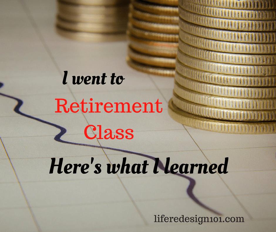 retirement class