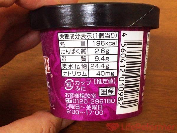 コールド ストーン ラムレーズンアイスクリーム 4