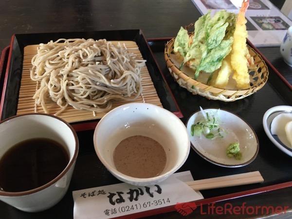 会津のお蕎麦が存分に味わえる『そば処 なかい』営業時間が短いので気をつけてね!