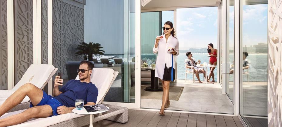 Burj Al Arab Terrace Ccabana