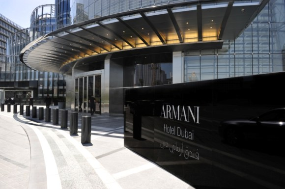Armani Hotel Dubai entrance