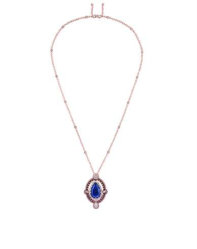 JSCR93006 - INTIMITE TANZANITE NECKLACE (1)