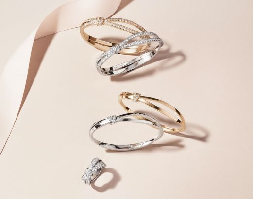 Chaumet - Liens Seduction bracelets and rings - Visual