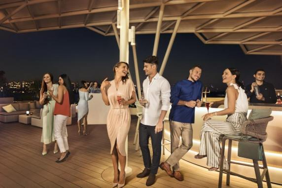 Burj Al Arab - Scape Restaurant _ Bar