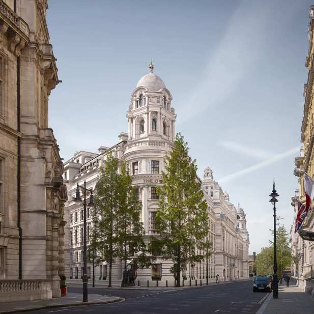 The OWO Whitehall Place view - Image credit Grain London